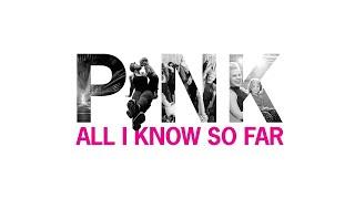 Kadr z teledysku All I Know So Far tekst piosenki Pink