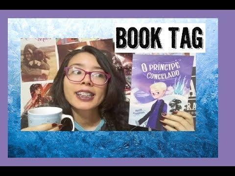 BOOK TAG O Príncipe Congelado |  Kemiroxtv