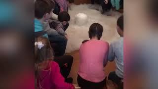 ❄️Крио шоу для детей инвалидов, ☃️ нано-мороженое 🍦