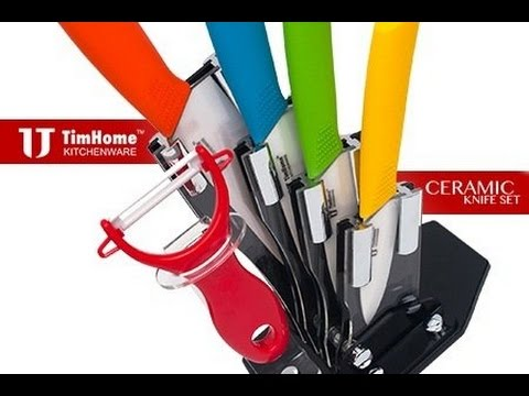 TimHome Ceramic Knife Set 6 Pieces – Review & Unboxing