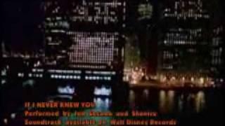Jon secada & shanice - if i never knew you (karaoke/Instrumental)