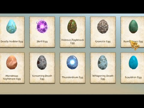 School of Dragons - Opening Mystery Egg Crates!!!