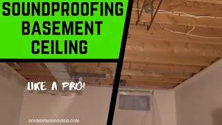 Basement Ceiling Soundproofing - 4 DIY Ways To Do It Cheap!