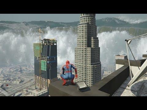 GTA 5 - SUPERHERO in a TSUNAMI! (GTA 5 Mods)