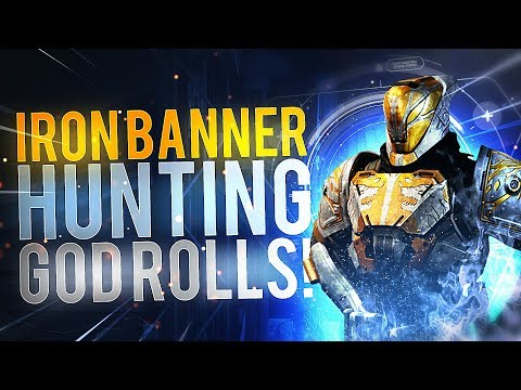 Destiny 2: Hunting God Roll Iron Banner Loot! (Opening 50 Engrams)