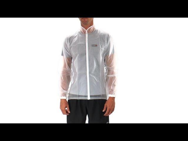 Видео Куртка Garneau Clean Imper прозрачная белая