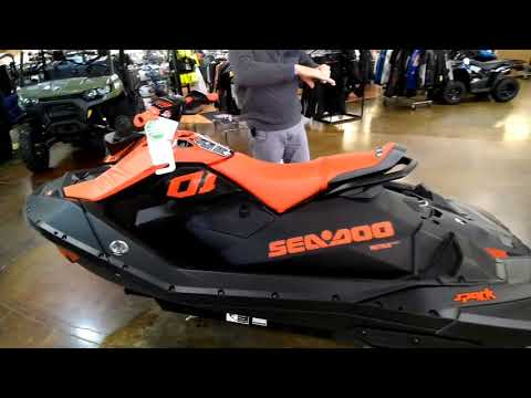 2021 Sea-Doo Spark 3up 90 hp iBR, Convenience Package + Sound System in Louisville, Tennessee - Video 1