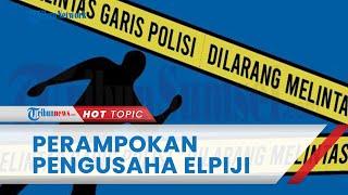 Perampokan di Rumah Pengusaha Elpiji di Padang, Menewaskan 1 Orang, Barang Berharga Ikut Raib