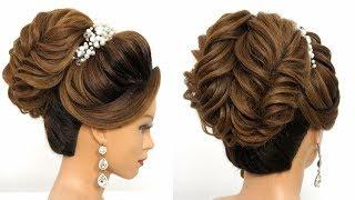 Bridal Updo Tutorial || Wedding Hairstyles || Easy Hairstyles || Hairstyle || Hair Style Girl