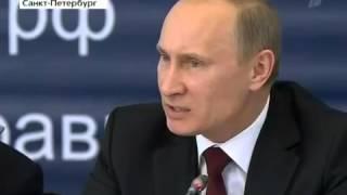 Путин в ярости не сдержался на совещании.