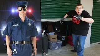 POLICE STORAGE UNIT! I Bought An Abandoned Storage Unit That Belonged To A Police Officer!