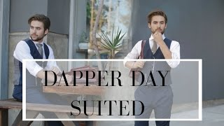 Dapper Days // Casual Suiting OOTD | How To Dress In Hot Weather