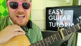Clairo   Closer To You  Easy Guitar Lesson Tabs Easy Chords Strumming Tutorial Beginner Lesson