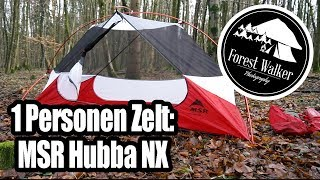 MSR Hubba NX Deutsch Review