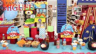 Mesa De Dulces Y Regalos  O Candy Bar De Súper Héroes