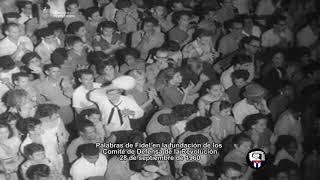 Cuba 60 Años de los Comités de Defensa de la Revolución #CDR