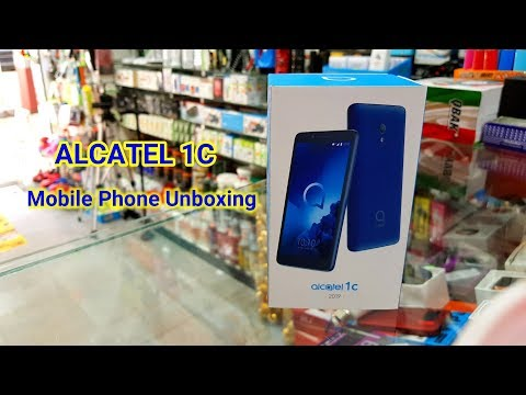 Alcatel 1c Mobile Phone Unboxing  || Alcatel 1c Review and unboxing