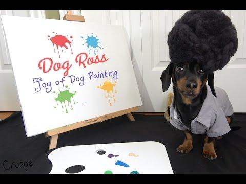 Dog Ross - The Joy of Dog Painting