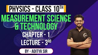 Measurement In Science & Technology | Lecture 3| Class10th | Physics| Aditya Sir | NIOS Vision Point