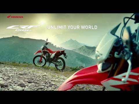 All New Honda CRF150L - Unlimit Your World