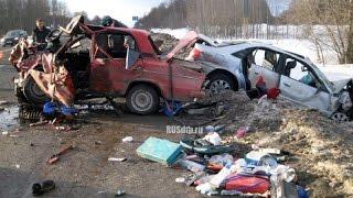 # 1 АВТО ЖЕСТЬ Март 2016 , Подборка жестоких ДТП  Car Crash Compilation HD
