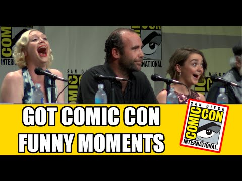 Game of Thrones Funny Comic Con Moments | MTW