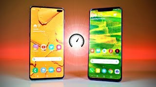 Samsung Galaxy S10 Plus vs Huawei Mate 20 Pro - Speed Test!