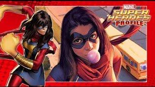 [SHP] 43 ประวัติ Ms. Marvel รุ่นที่สอง Kamala Khan อินฮิวแมนพลังยืดดด!!