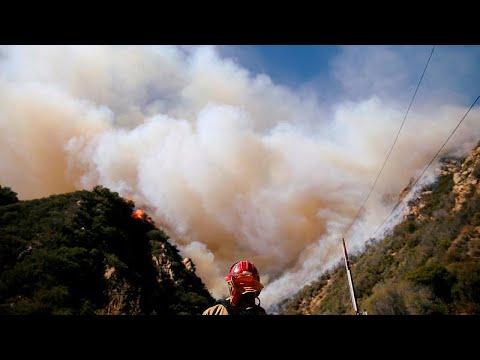 «Κλιματική αλλαγή και δόμηση προκαλούν μεγάλες φωτιές»…
