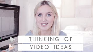 How to Think of Unique Video Ideas for your Youtube Channel | CHANNEL NOTES