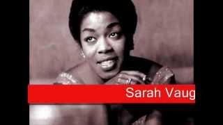 Sarah Vaughan: My Funny Valentine