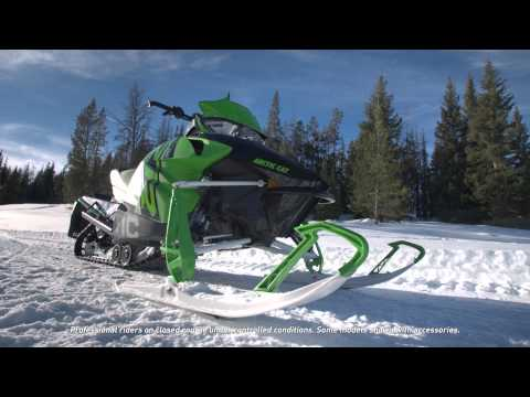 "2016 Arctic Cat ZR 9000 137"" Sno Pro ES in Roscoe, Illinois - Video 3"