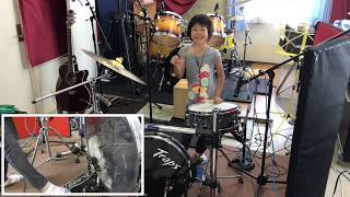 Stray Cats - Rock This Town / Cover by Yoyoka Soma , 8 year old