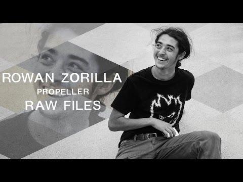 Rowan Zorilla's Propeller RAW FILES