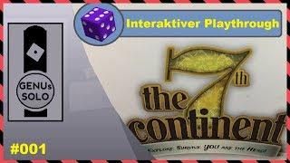 The 7th Continent - #001 - interaktiver Playthrough - deutsch