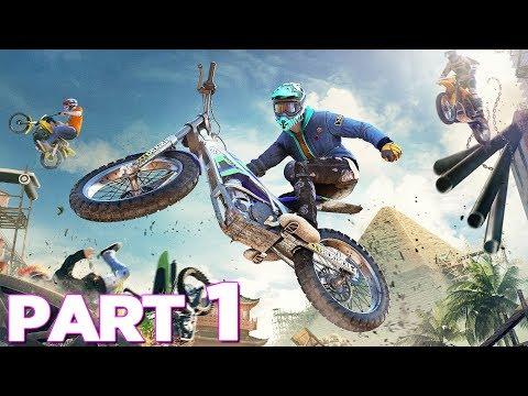 TRIALS RISING Walkthrough Gameplay Part 1 - INTRO (PS4 Pro)