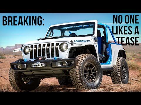 The 2023 Jeep Wrangler Magneto Has A Long Way To Go...