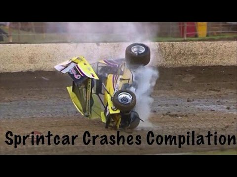 SPRINTCAR CRASHES COMPILATION 2018!!!
