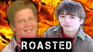 ROASTING OUR CRINGY PICTURES W/ REACT CAST