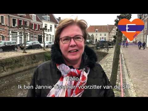 Hart onder de riem van Jannie Visscher
