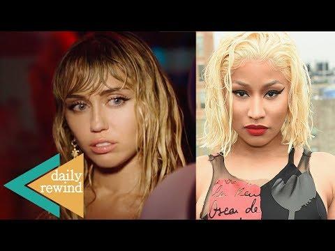 Miley Cyrus Drops 'Slide Away' Video 1 Month After DIVORCE! Nicki Minaj Retirement EXPLAINED! DR