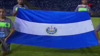 Himno de El Salvador vs Mexico 09-02-16