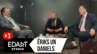 Ēriks un Daniels - Par filmu, biznesu un reliģiju.