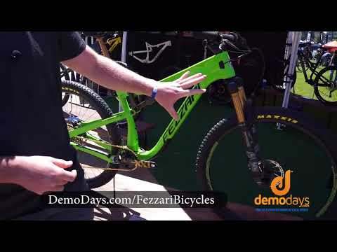 Fezzari Bicycles Signal Peak Mountain Bike Redesign - Sea Otter Classic