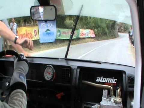 Krste Trajkovski onboard - Kavadarci Race 1 Fiat Ritmo