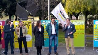 preview picture of video 'Elezioni Regionali Progetto M5S Campania 2015 - Intervento di Agostino Santillo - Caserta 20/3/2015'