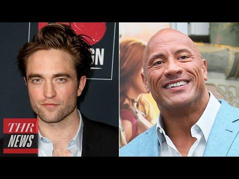 Robert Pattinson, Dwayne Johnson Both Test Positive for COVID-19, 'The Batman' Halted | THR News