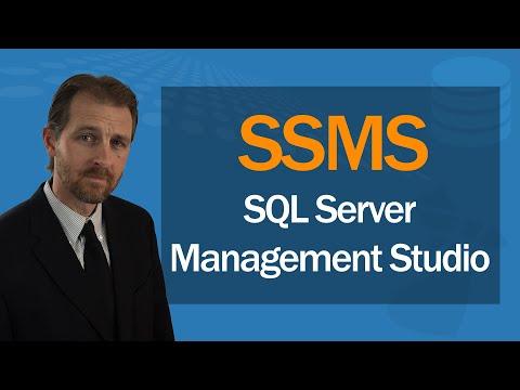 SQL Server Management Studio (SSMS) | Full Course - YouTube