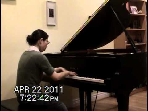 My student Yuki plays Chopin-Scherzo no.3 C#-minor
