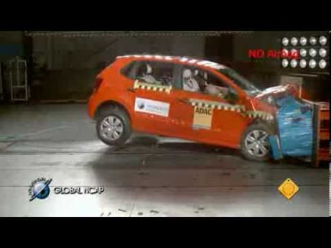 VW Polo en la Global NCAP